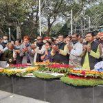 শহীদ বুদ্ধিজীবী দিবস উপলক্ষে জাতীয় শ্রমিক লীগের শ্রদ্ধা নিবেদন