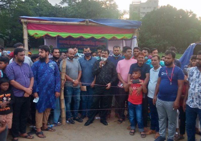 ঢাকাস্থ নান্দাইল সমিতির উদ্যোগে বনানী কড়াইল টিএনটি মাঠে কাবাডি খেলা অনুষ্ঠিত